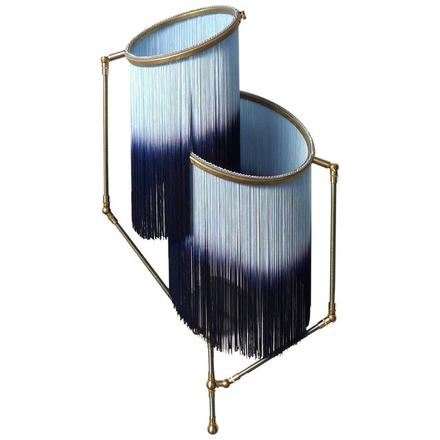 Blue Charme Sconce Lamp, Sander Bottinga For Sale