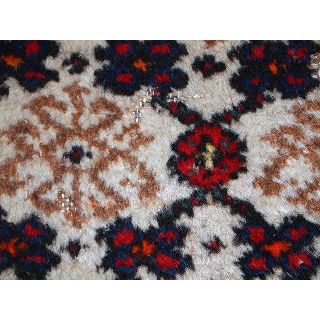 1960s Hand Made Vintage Persian Hamadan Runner - 2′7″ × 6′9″ - Image 7 of 10