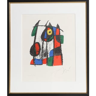 Joan Miró, Lithograph II (M. 1043), Modern Lithograph For Sale