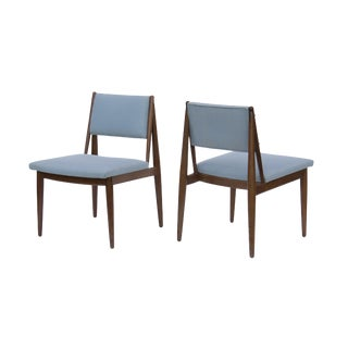 Midcentury Scandinavian-Style Dining Chairs, Pair For Sale