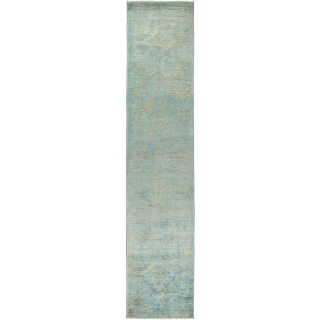 "Vibrance Hand Knotted Runner Rug - 2' 8"" X 12' 4"" - Image 4 of 4"