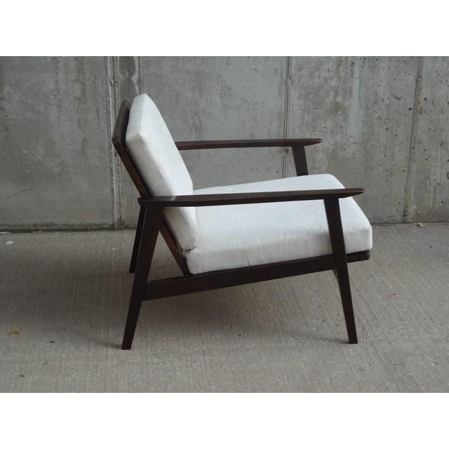 Restored Danish Modern Style Armchair - Image 7 of 11