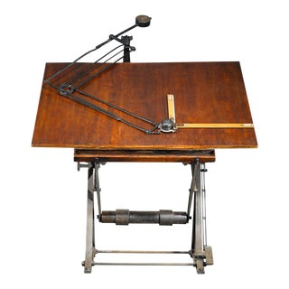 Antique Architect's Table
