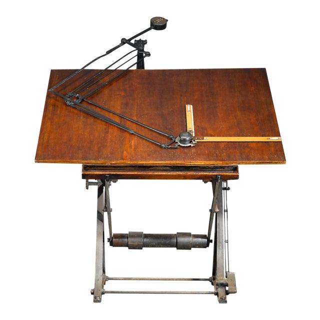Antique Architect's Table For Sale