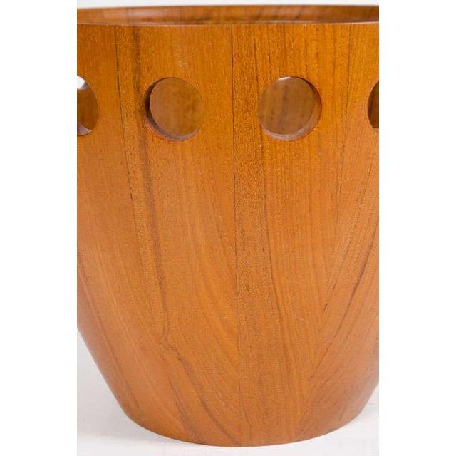 Dansk Jens Quistgaard Danish Modern Staved Teak Fruit Bowl For Sale - Image 4 of 8