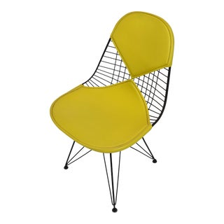 Mid-Century Modern Eames for Herman Miller Yellow Bikini Chair For Sale