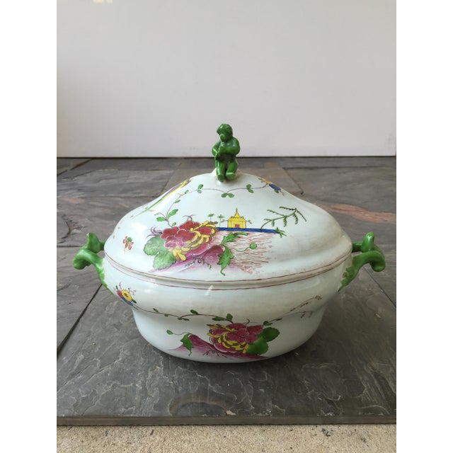 18th C. Continental Tureen & Underplate For Sale - Image 5 of 6