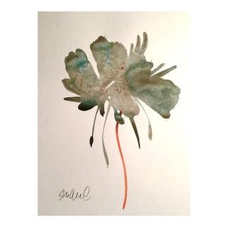 """Vermilion Road"" Watercolor Painting For Sale"