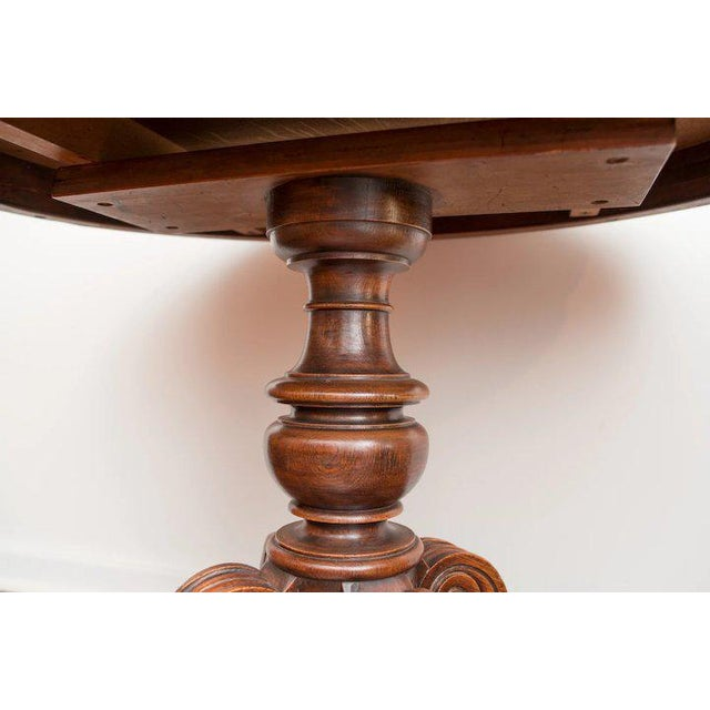 Mid 19th Century 19th Century Louis Philippe Oval Table Normandy France For Sale - Image 5 of 9