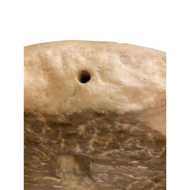 Ancient Roman Carved Marble Roundel For Sale - Image 10 of 11