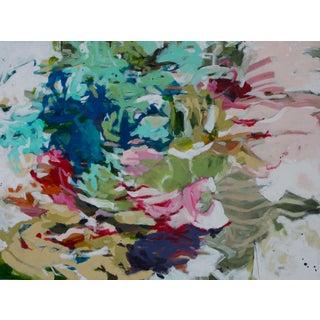 "Gina Cochran ""If I Had My Way"" Original Abstract Mixed Media Painting For Sale"