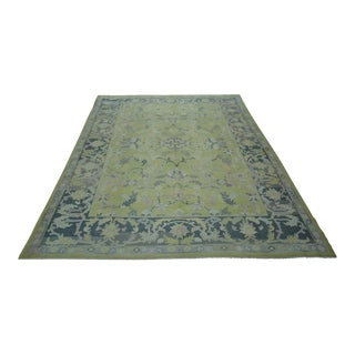 Turkish Anatolian Modern & Decorative Oushak Rug - 8′10″ × 12′1″