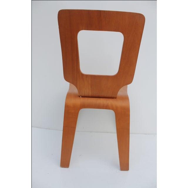 Thaden Jordan Mid-Century Bentwood Birch Chair For Sale - Image 11 of 11