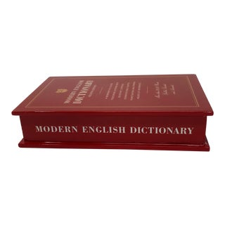 Hollywood Regency Kate Spade New York Lenox a Way With Words Dictionary Box For Sale