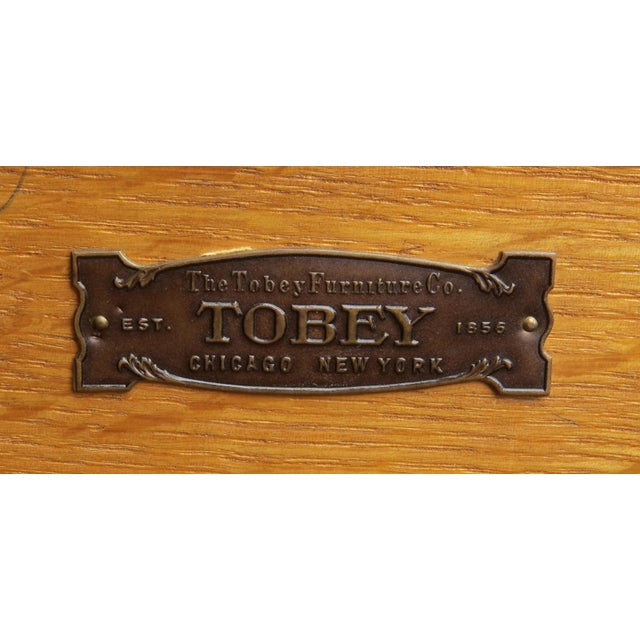 1920s Chippendale Tobey Furniture Company Walnut and Burl Lowboy For Sale - Image 10 of 13