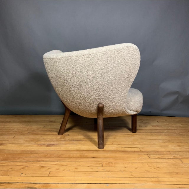 "2010s Viggo Boesen, ""Little Petra"" Lounge Chair, Designed 1938 For Sale - Image 5 of 11"