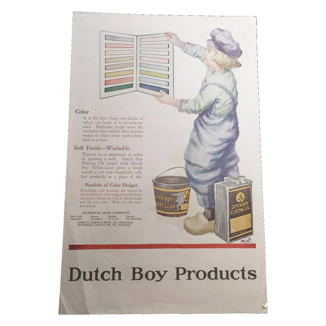 Dutch Boy Product And Cole Aero-Eight Print For Sale