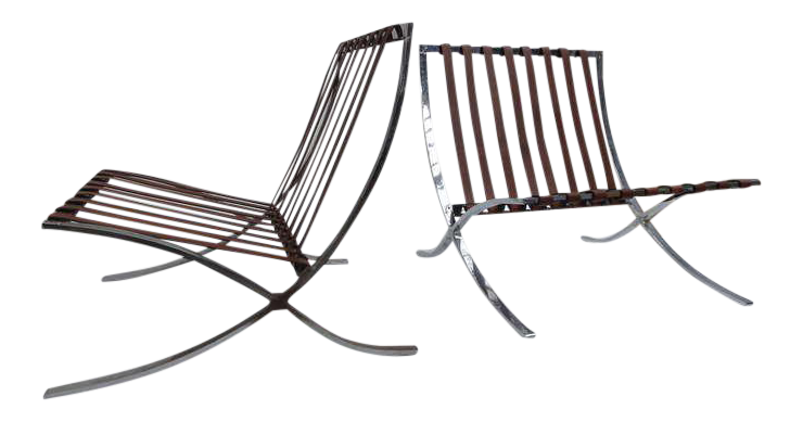 Incredible Screw Frame 1947-1954 Production Mies Van Der Rohe