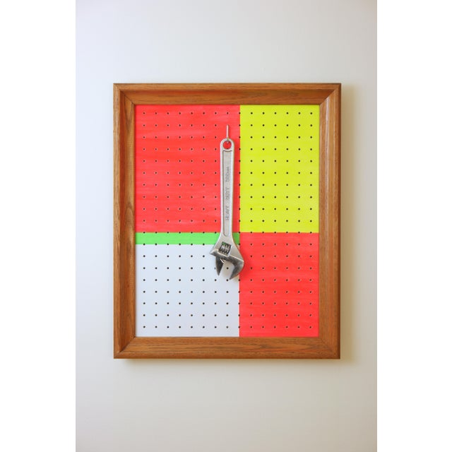 Metal Contemporary Abstract Pop Art Wall Sculpture For Sale - Image 7 of 7