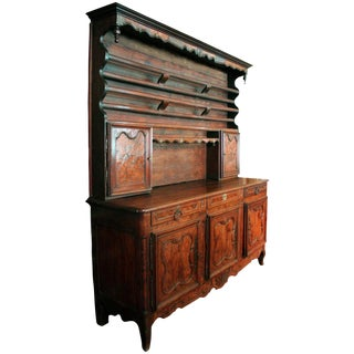 Country French Vaisselier Enfilade For Sale