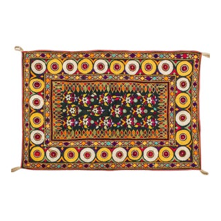 Vintage Indian Textile Wall Hanging For Sale