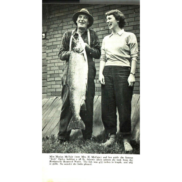 """1970s 1977 """"Six Salmon Rivers and Another"""" Collectible Book For Sale - Image 5 of 7"""