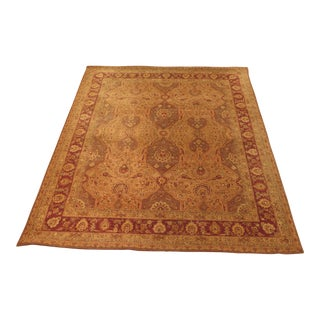 Capel Burma Silk Serape Room Size Rug - 7' x 9' For Sale