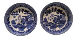 Image of Antique White Decorative Bowls