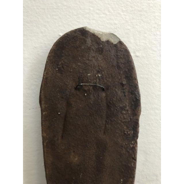 Primitive Face Sculptural Wall Object For Sale In Los Angeles - Image 6 of 8