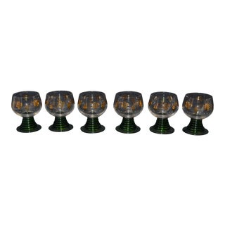 Schott Zwiesel Ruwer Stemmed Cordial Glasses - Set of 6 For Sale