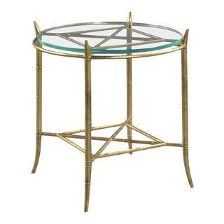 Modern Coventry Round Side Table For Sale