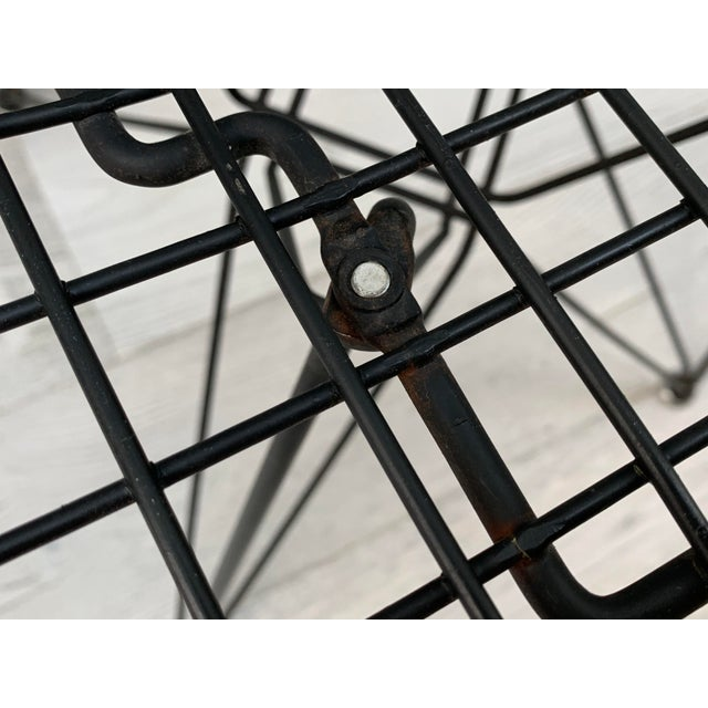 Mid 20th Century Mid Century Modern Eames Herman Miller Wire Chair For Sale - Image 5 of 11