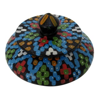Ceramic Lidded Trinket Bowl For Sale