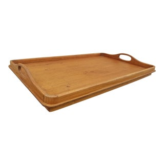 1960s Teak Scandinavian Modern Bed Tray by Goodwood For Sale