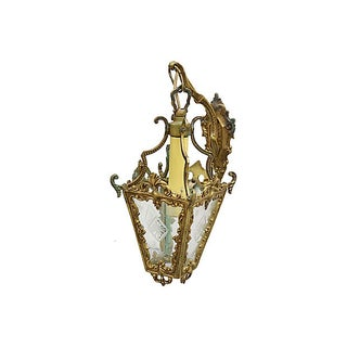 Antique French Wall Sconce / Lantern Preview