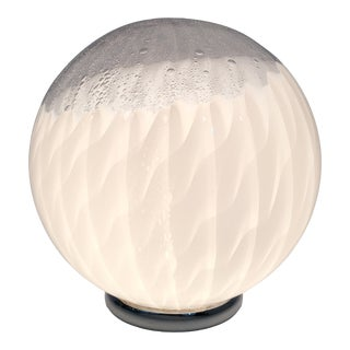 1970s Murano Art Glass Globe Table Lamp For Sale