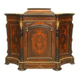 Image of American Victorian Rosewood Credenza For Sale