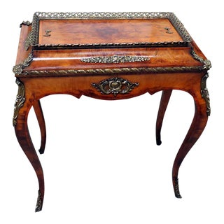Louis XV Style Inlaid Cellarette For Sale