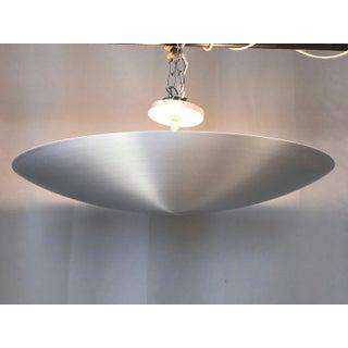 Nova Industries Large Spun Aluminum Saucer Pendant Ceiling Light Preview