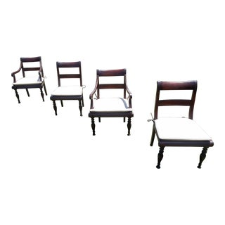 Baker Milling Road Dining Chairs - Set of 4 For Sale