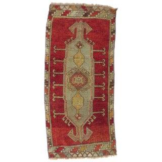 "Vintage Turkish Red Runner-1'8'x3'7"" For Sale"