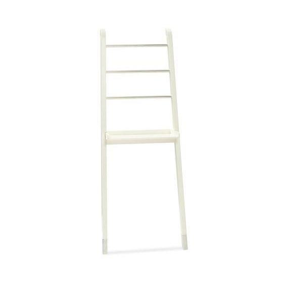 "White ""Nappa"" Pottery Barn Ladder Storage - Image 4 of 8"
