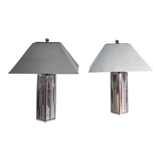Per Rehfeldt Pair of Stoneware Table Lamps, Denmark For Sale