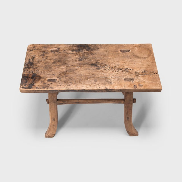 Asian Early 20th Century Chinese Farmhouse Prosperity Table For Sale - Image 3 of 8