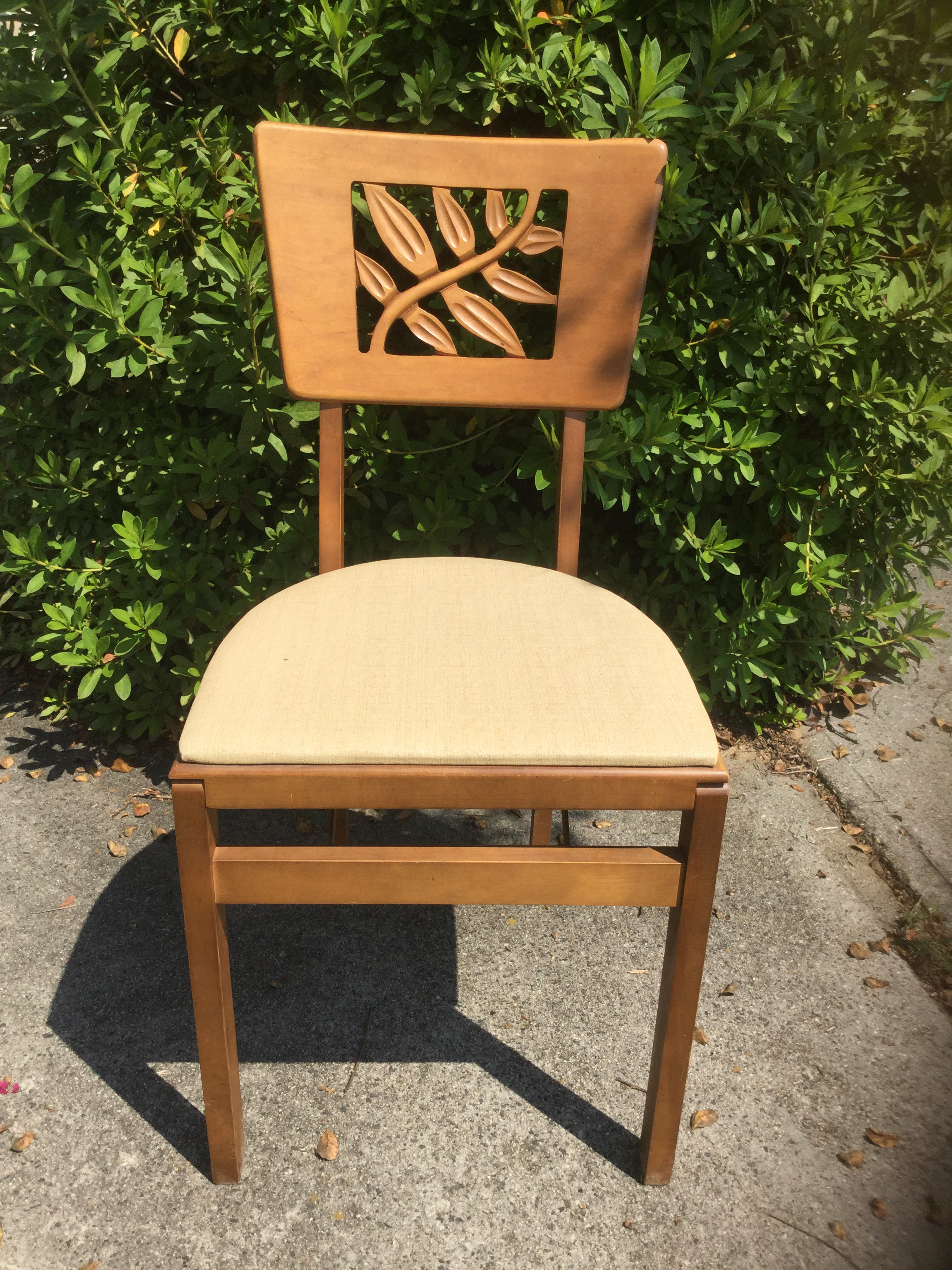 Art Deco Vintage Carved Art Deco Chairs   Set Of 6 For Sale   Image 3