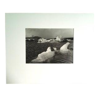 "1970s ""Skeiderarjokull"" Icelandic Landscape Photograph by Fred Picker For Sale"
