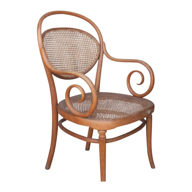Vintage Thonet Arm Chair - Image 1 of 11
