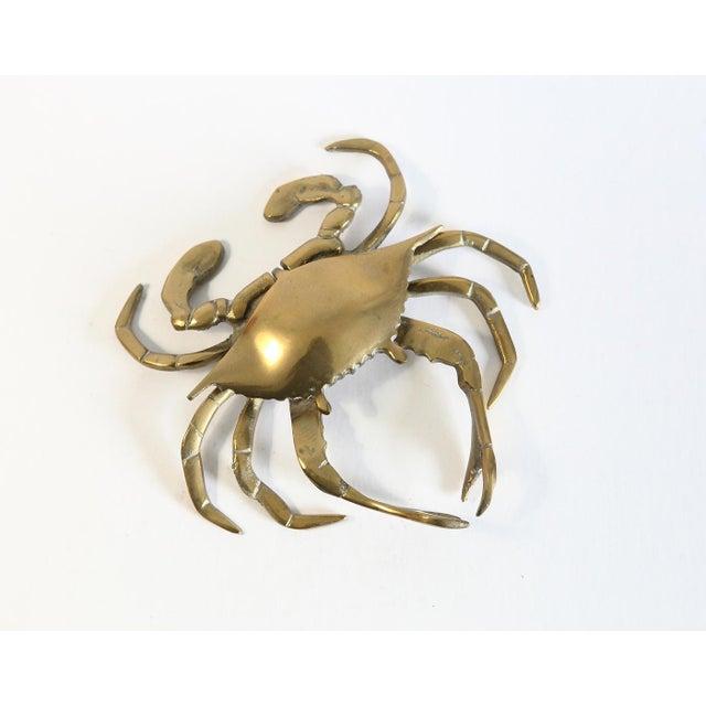 Vintage Brass Crab Figurine - Image 2 of 6