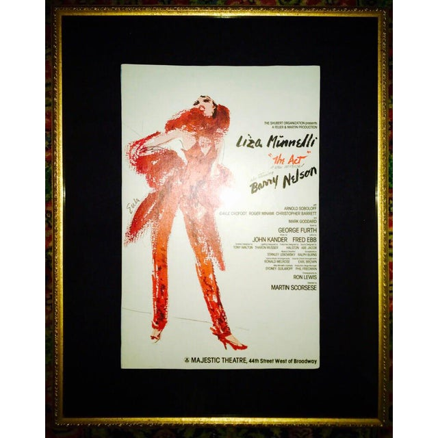 The Act 1977 Broadway Musical Poster - Image 2 of 2