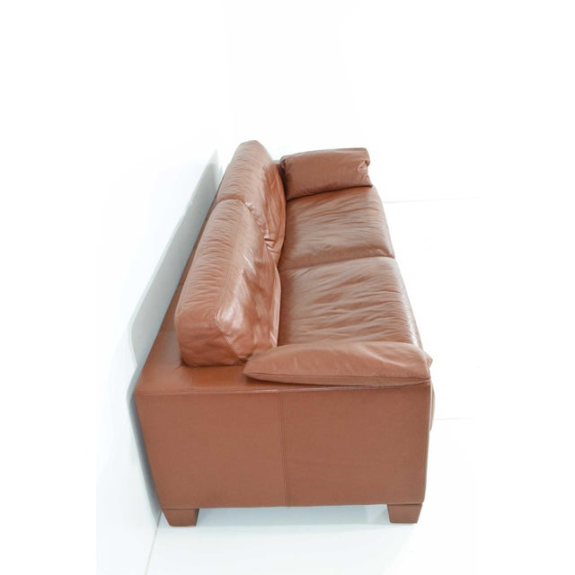 1990s 1990s Vintage De Sede Leather Sofa For Sale - Image 5 of 11